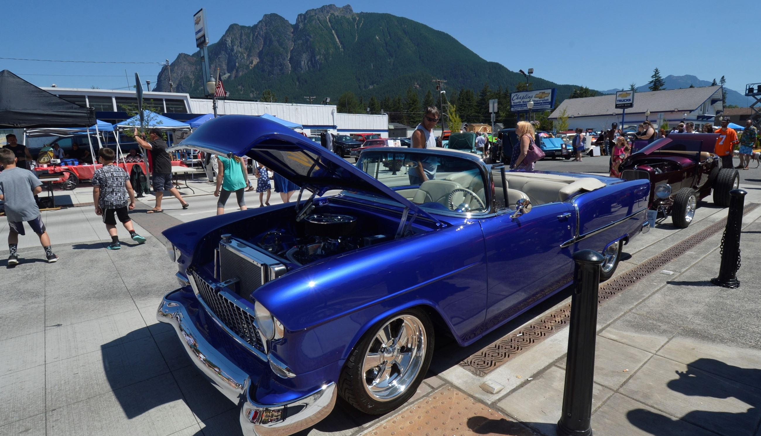 Legends Car Show, Photo courtesy of Mary Miller