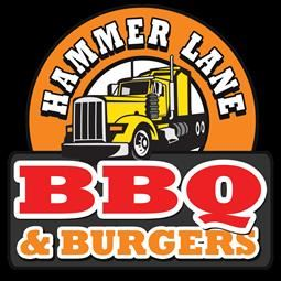 Hammer Lane BBQ and Grill Logo